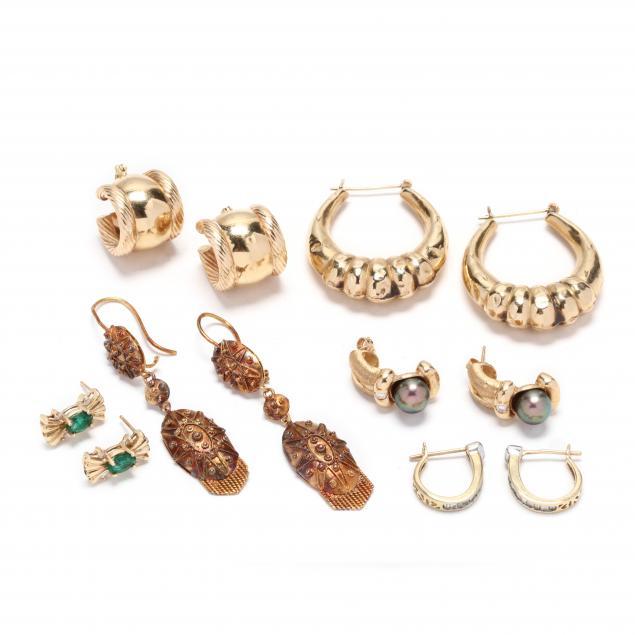 group-of-earrings