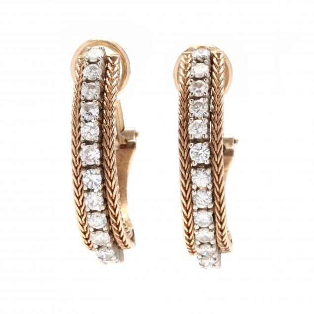 gold-and-diamond-hoop-earrings