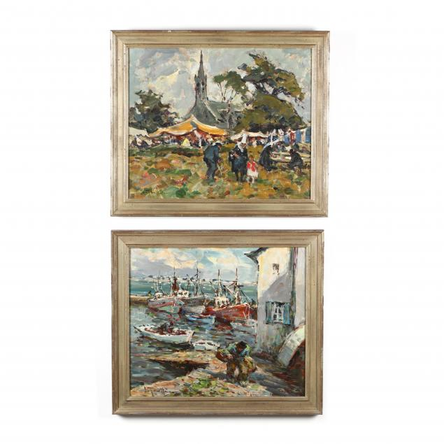 two-vintage-paintings-of-brittany