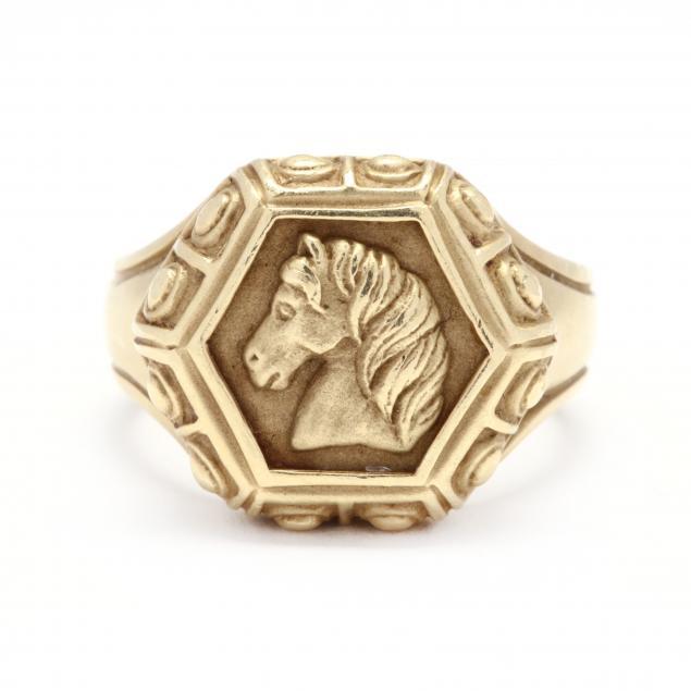 18kt-gold-horse-ring-slane