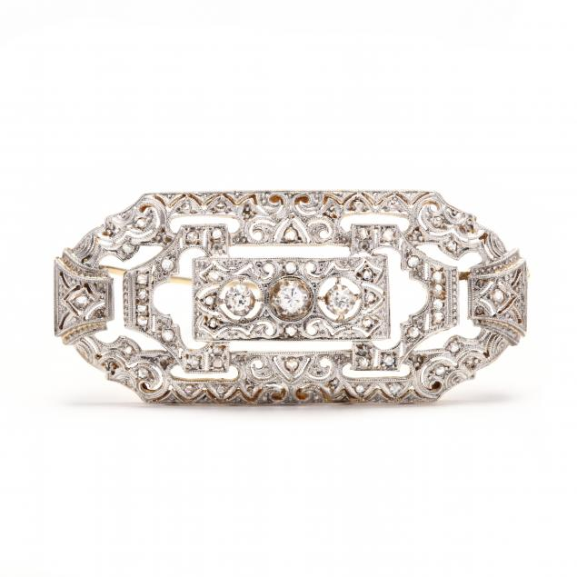 edwardian-bi-color-gold-and-diamond-brooch