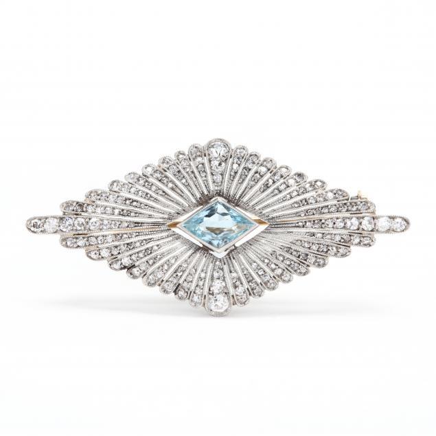 platinum-and-gold-gem-set-brooch
