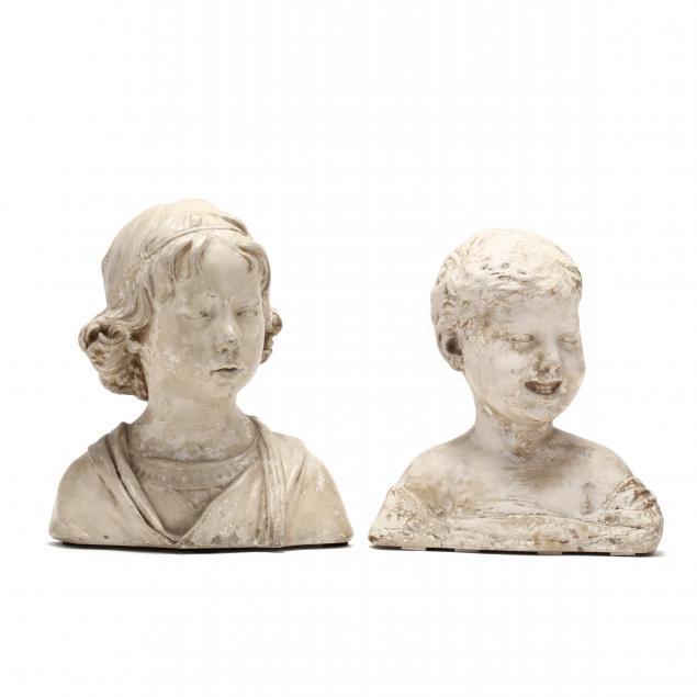 caproni-bro-boston-two-plaster-busts