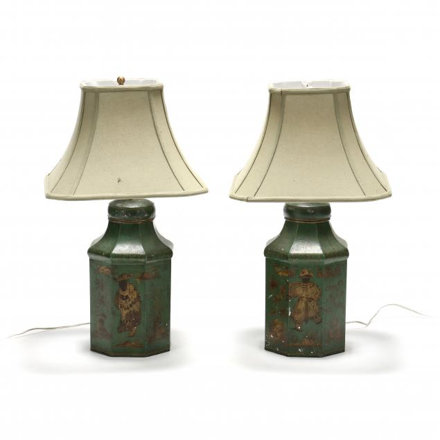 pair-of-antique-tole-urn-table-lamps
