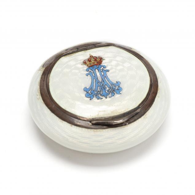 austrian-guilloche-enameled-935-silver-pill-box-mark-of-alexander-sturm