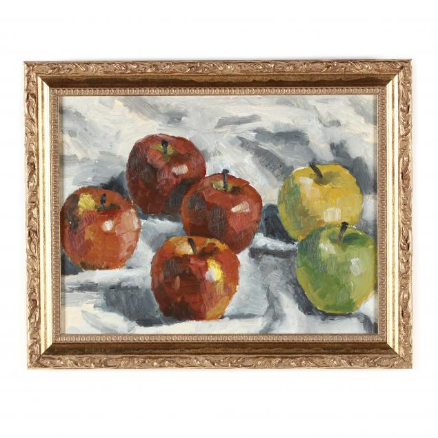 shirley-tenhover-oh-still-life-with-assorted-apples