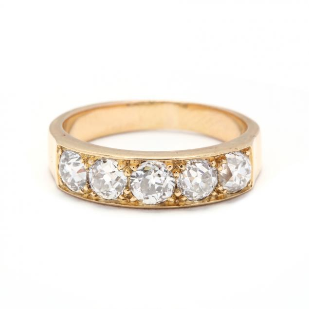 antique-gold-and-diamond-ring