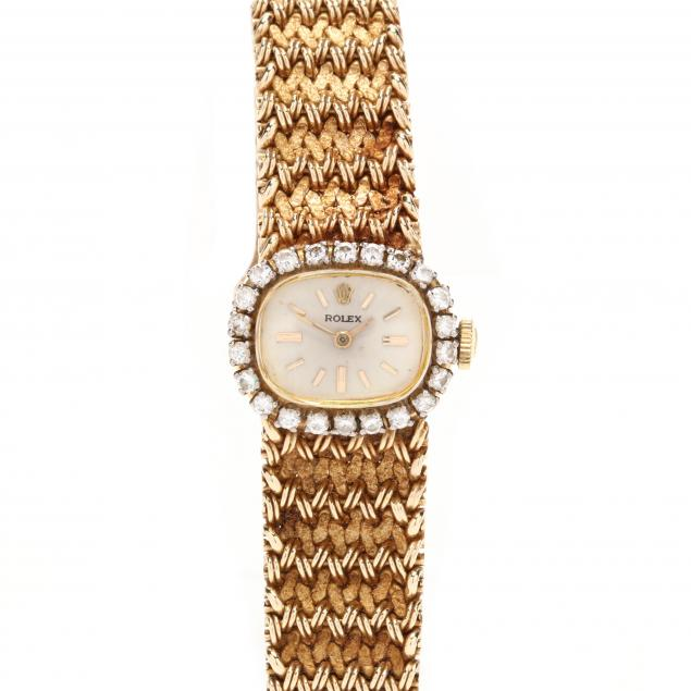 lady-s-vintage-14kt-gold-and-diamond-watch-rolex