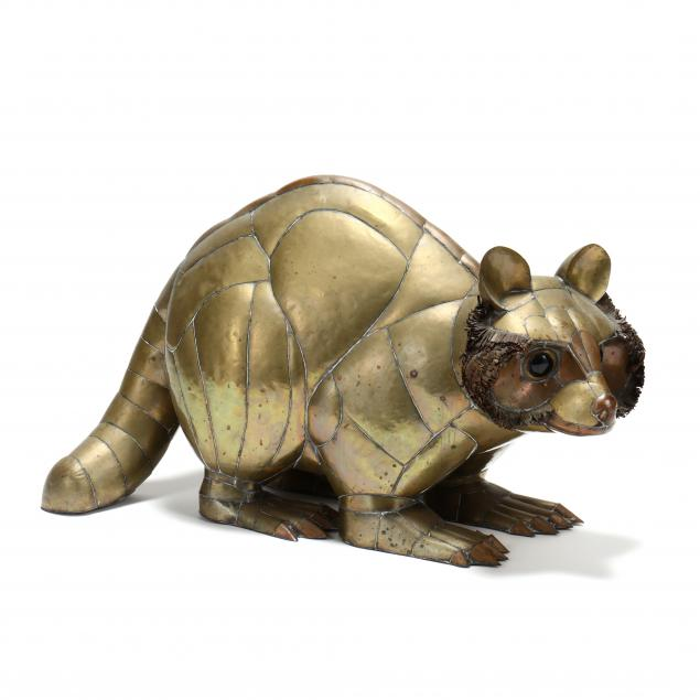 sergio-bustamante-mexico-b-1949-life-size-brass-raccoon-sculpture
