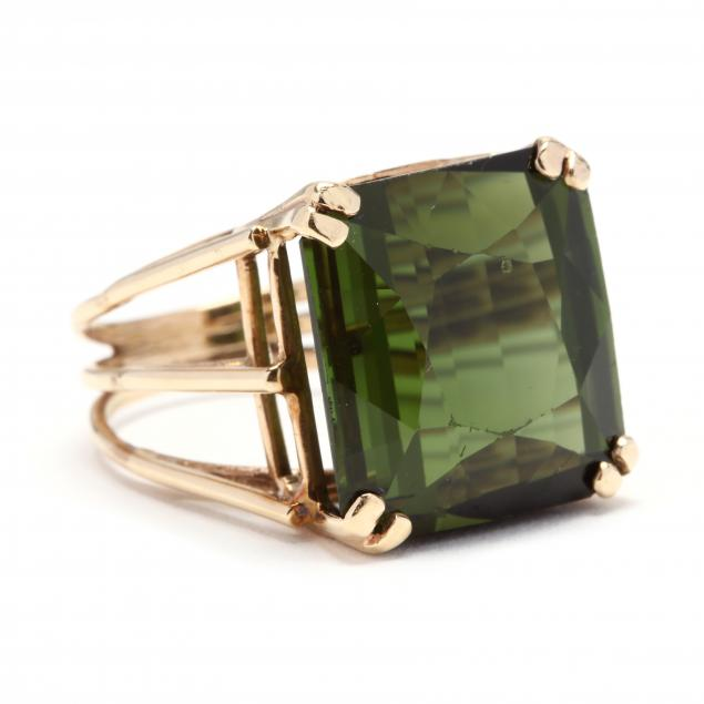 gold-and-green-tourmaline-ring