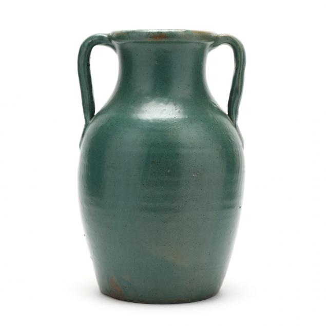 nc-pottery-double-handled-vase
