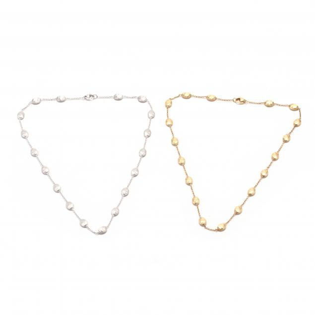 two-18kt-gold-necklaces-marco-bicego