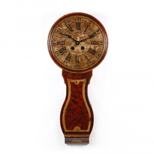 antique-painted-act-of-parliament-wall-clock