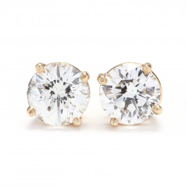 14kt-gold-and-diamond-stud-earrings