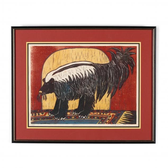 mary-hamilton-american-20th-century-i-skunk-i