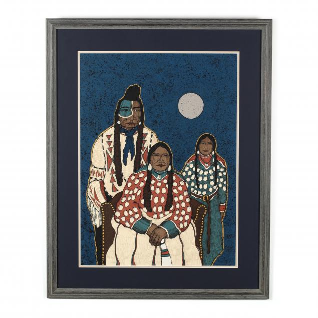 kevin-redstar-b-1943-i-crow-indian-family-i