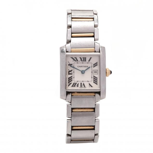 stainless-steel-and-18kt-gold-tank-francaise-watch-cartier