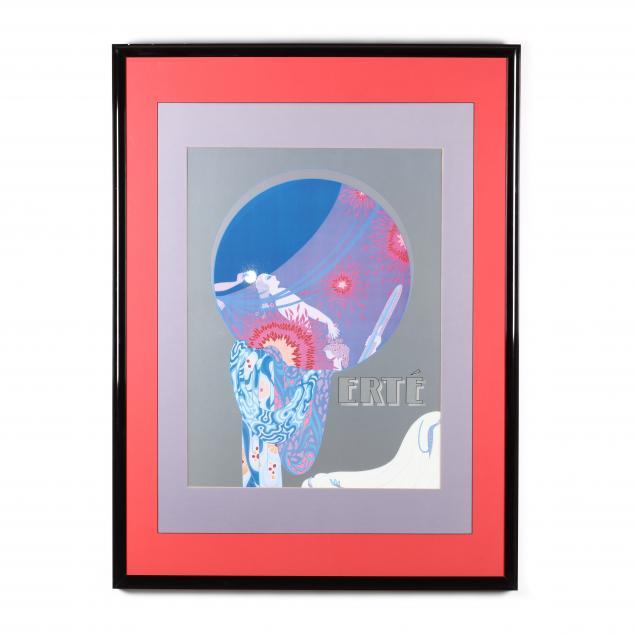 a-large-framed-erte-poster-after-i-nature-s-vanity-i