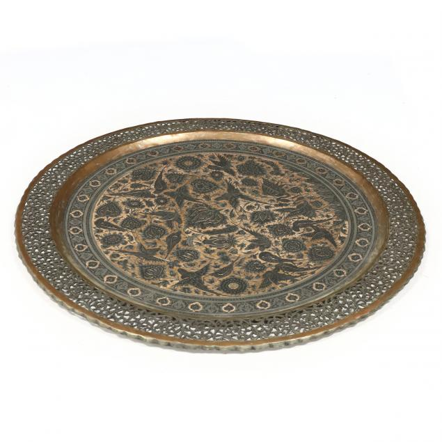 a-southeast-asian-chased-copper-tray