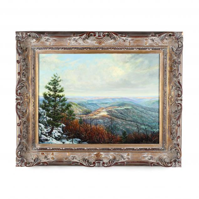 egidio-antonaccio-italian-american-b-1954-blue-ridge-vista
