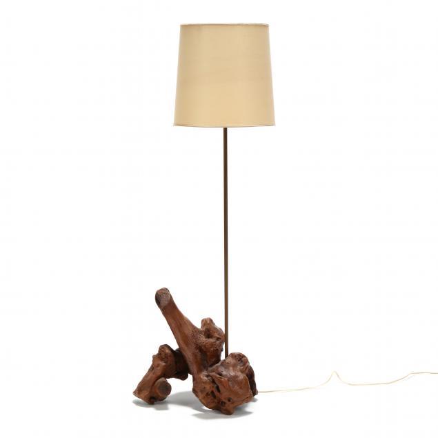 mid-century-driftwood-floor-lamp