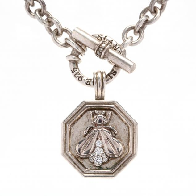 sterling-silver-diamond-necklace-set-slane