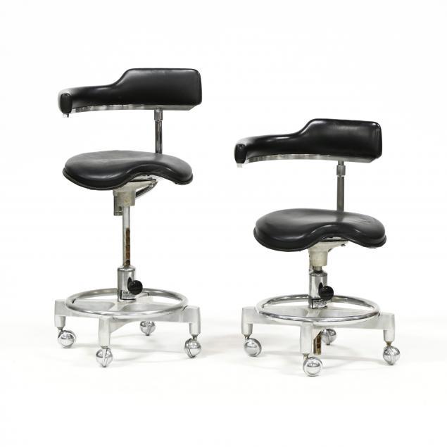 pair-of-vintage-dentist-s-chairs