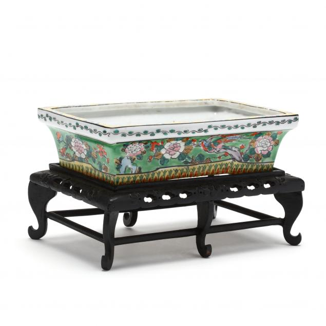 a-chinese-floral-porcelain-jardiniere-with-raised-stand