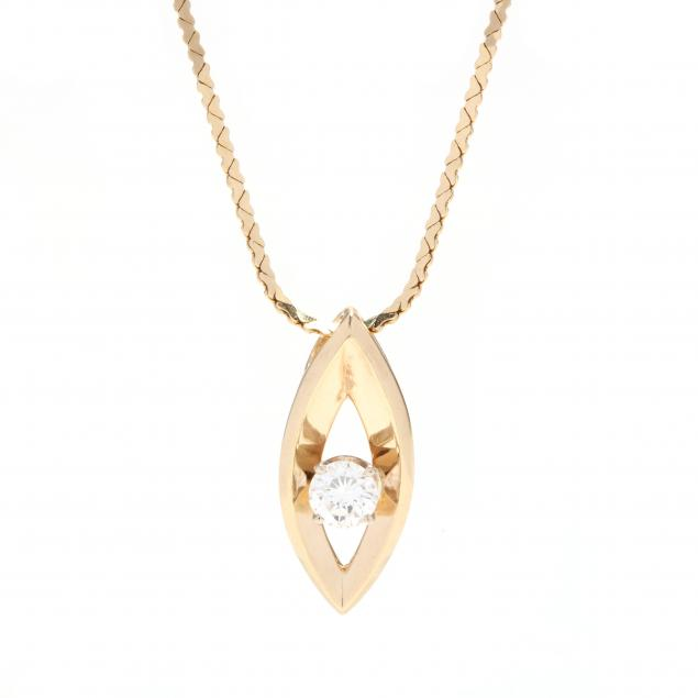 14kt-gold-and-diamond-pendant