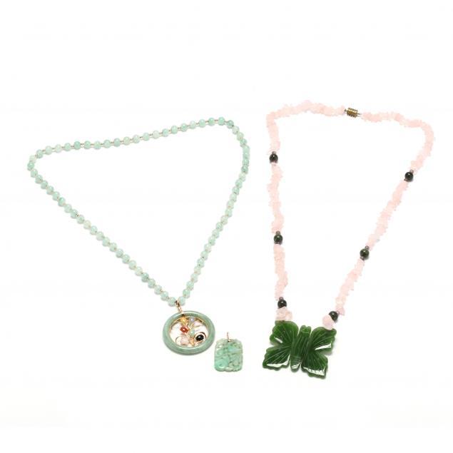 group-of-jade-jewelry-items