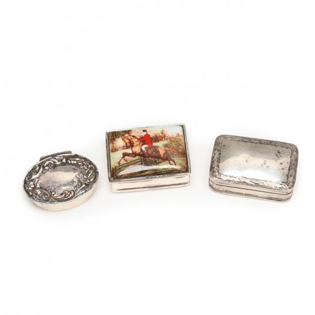 three-sterling-silver-pill-boxes