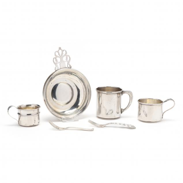 a-grouping-of-child-s-american-sterling-silver