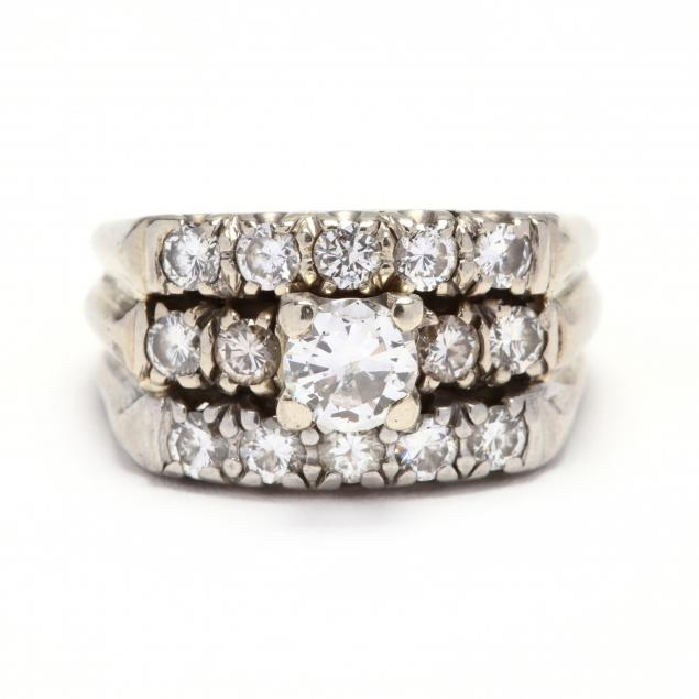vintage-white-gold-and-diamond-ring