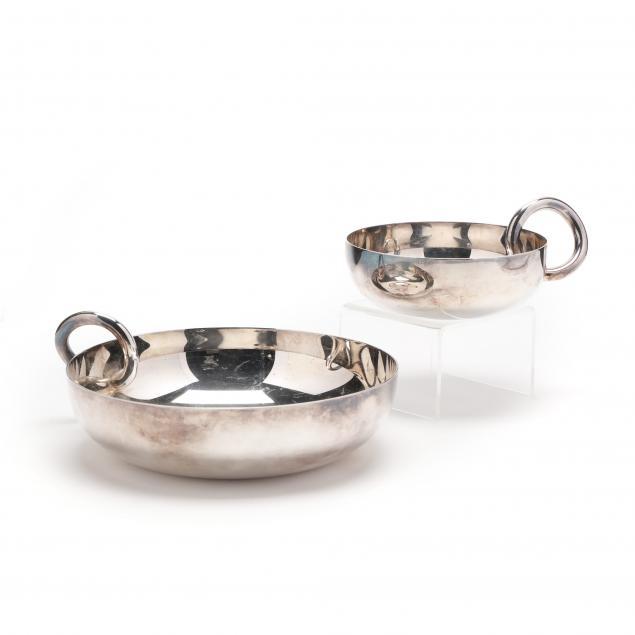 two-christofle-vertigo-bangle-bowls