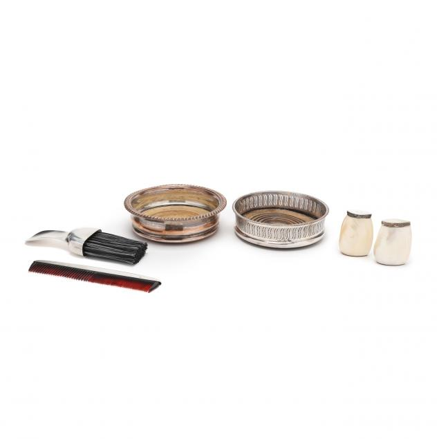 a-grouping-of-silver-accessories