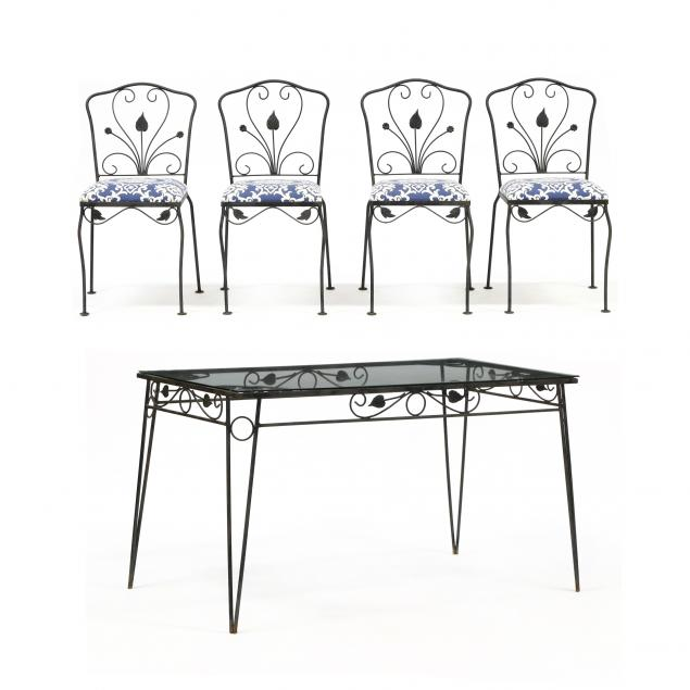 salterini-vintage-table-and-four-chairs