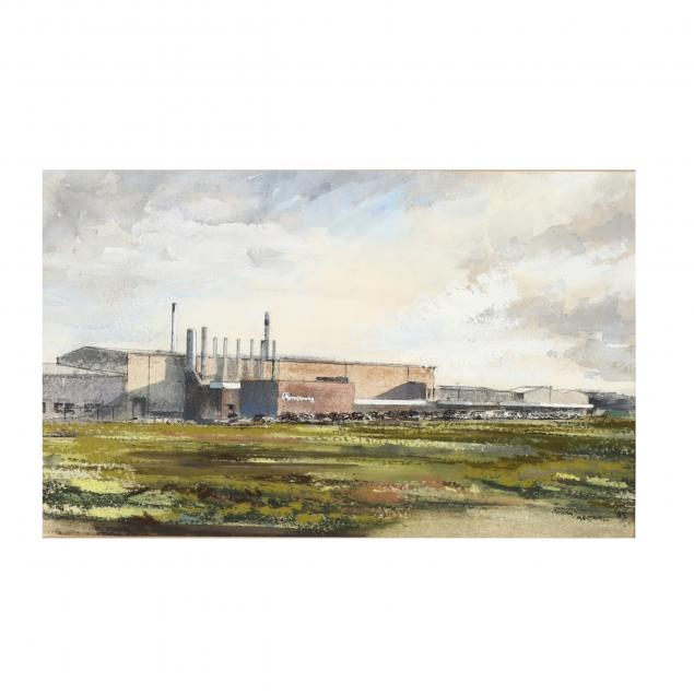 richard-marshall-english-1943-2006-armstrong-manufacturing-plant