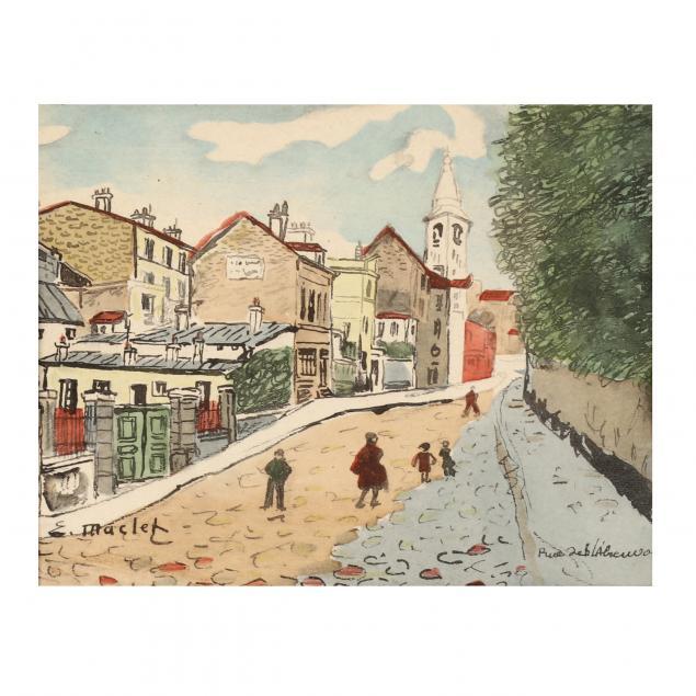 after-elisee-maclet-french-1881-1962-i-rue-de-l-abreuvoir-i