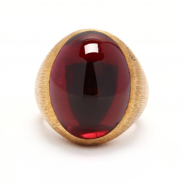 18kt-gold-and-rubellite-ring-henry-dunay