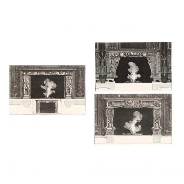 giovanni-battista-piranesi-italian-1720-1778-three-chimneypiece-etchings