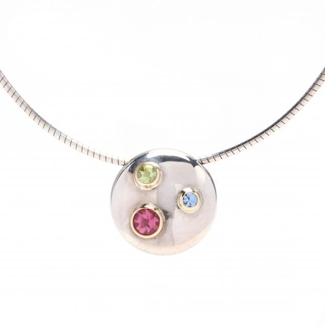 18kt-gold-and-sterling-silver-gem-set-necklace-tiffany-co