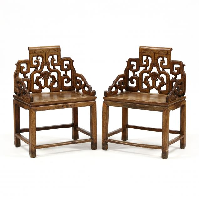 pair-of-antique-chinese-carved-hardwood-armchairs