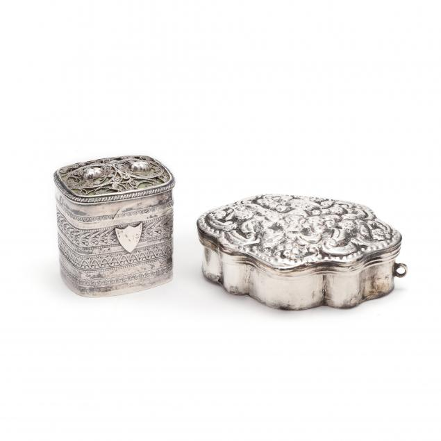 two-antique-silver-boxes