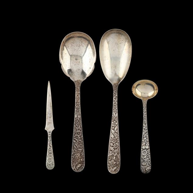 four-s-kirk-son-repousse-sterling-silver-servers