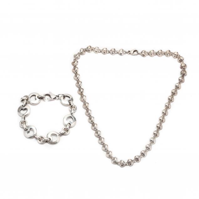 two-sterling-silver-heart-motif-jewelry-items-tiffany-co