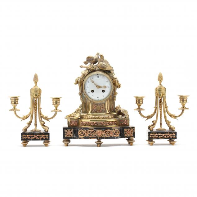 tiffany-co-louis-xvi-style-clock-garniture