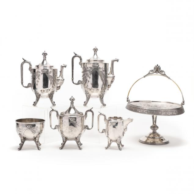 an-antique-silverplate-tea-coffee-service-and-handled-bride-s-basket