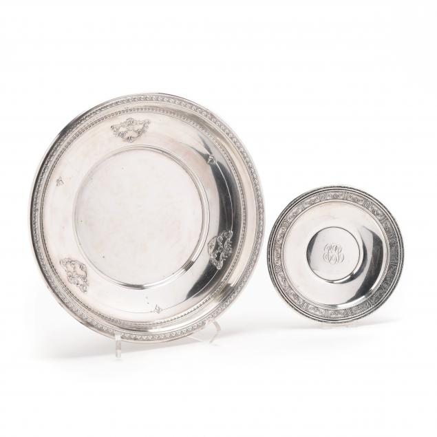 two-sterling-silver-dishes