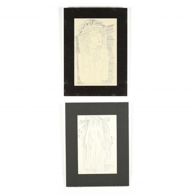 two-allegorical-ink-drawings