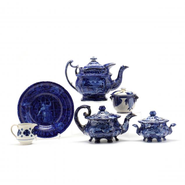 group-of-english-staffordshire-transferware-and-stick-spatter-china
